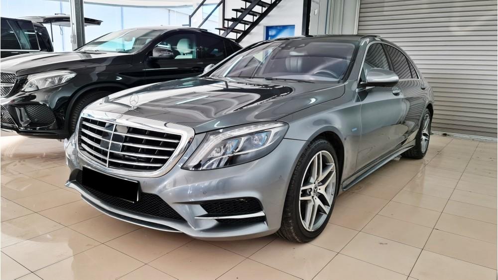 Mercedes Clase S 500 Hybrid